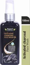 Rangrej Aromatherapy Activated Charcoal Face Wash 100ml