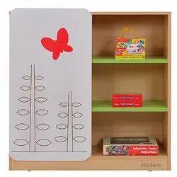 Butterfly Printed Storage Rack
