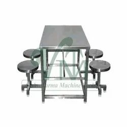 Steel Polished Ss Table, For Restaurants