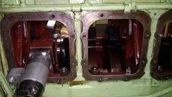 On Site Repair Of Crankshaft Of Yanmar M200al-dt Engine