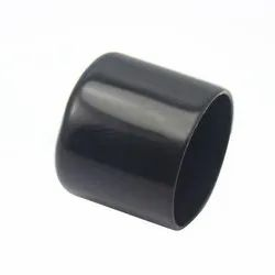 Color Coated PVC Tube End Cap, Size: 1 inch