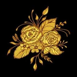 Golden High Level Computerised Embroidery Dress Service, For Delicate Designing