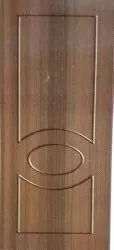 DD-102 Andhra Teak And Rose Wood Membrane Doors, For Home, Door Height: As Request