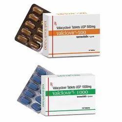 Valacyclovir 500mg / Valacyclovir 1000mg