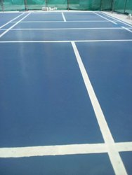 Blue Vinyl Flooring, For Outdoor