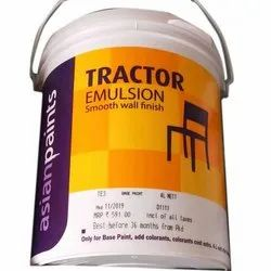 Smooth Wall Finish Asian Emulsion Paints, For Interior Walls, Packaging Size: 4 L