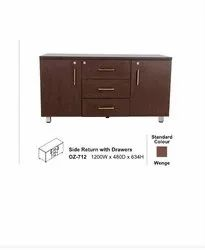 Side Return With Drawers