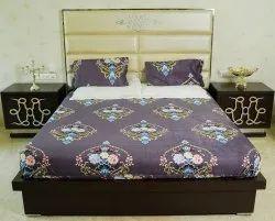 涤纶双印刷樱桃床单,家居,酒店,尺寸:270 x 270厘米