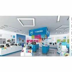 Digital Printing In-Shop Branding Service