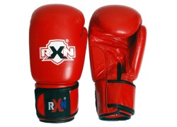 Leather Red Amateur Competition Boxing Glove