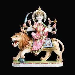 Marble Durga Mata Statue