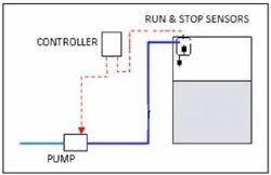 Flow Time Based Online Water Pump Controller, Digital, 220 V AC