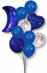 Foil Balloon Assorted Pack- 10 pieces