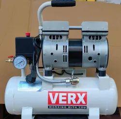 VERX 9Ltr 650Wats Oil Free Silent Compressor