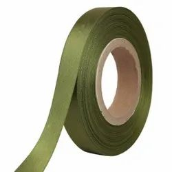 Double Satin NR - Military Green Ribbons 25mm/1''inch 20mtr Length