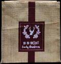 Square Jute Gift Bag