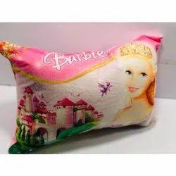 Printed Kides Velvet Disnep Pillows, Rectangular, Size: 12x18 Inch