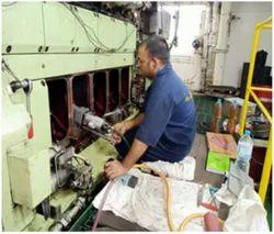 Man 6l 23/30 H Crankshaft Repair And Save Crankshaft Of Man Engine From Rejection