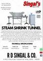 Steam Shrink Tunnel