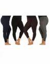 Ladies Hosiery Plain Leggings