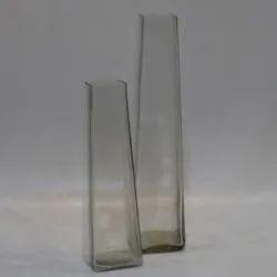 Taper Square Glass Vase