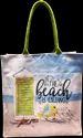 Square Canvas Beach Bag
