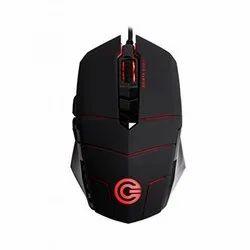 圆形CG神枪手2超速游戏鼠标(黑色)
