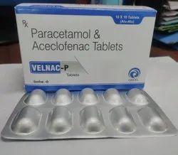 Aceclofenac 100mg Paracetamol 325mg