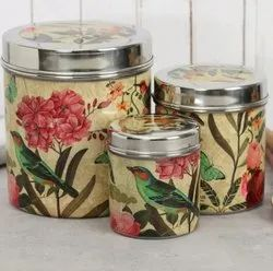 Stainless Steel Jar, For Home