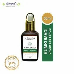 Rangrej's Aromatherapy Kumkumadi Under Eye Serum, Reduce Dark Circles & Puffiness 50ml