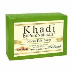 byPureNaturals Khadi Neem Tulsi Soap- 125gm