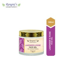 Rangrej''s Aromatherapy Lavender & Rose Face Gel For Skin Lighten/Brighten/Glowing/Moisturizing Skin