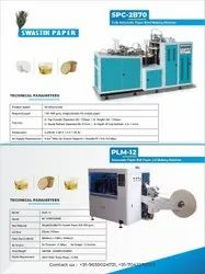 AUTOMATIC PAPER LID MAKING MACHINE