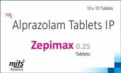 Alprazolam Tablets 0.25 mg