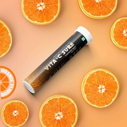 Vita- c Sure - Effervescent Tablets ( Vitamin C With Zinc)