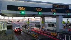 TOLL PLAZA TRAFFIC SIGNALS