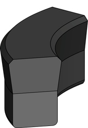 A-107 ROD PISTON SEAL