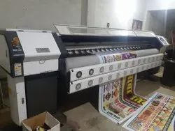 Konica Second Hand Flex Printing Machine, Model Name/Number: CK512i, Print Speed: 400 Sqft-1000 Sqft