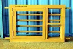 Yellow Stainless Steel Window