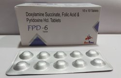 Doxylamine Succinate Folic Acid & Pyriodoxine Hcl Tablet