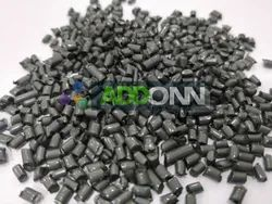MOS2 Nylon 6 Granules Metallic Green
