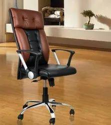 Leatherette Losco High Back Home Office Chair, Multicolour