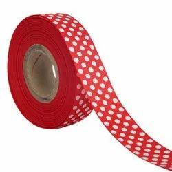 Polka Dots Red Ribbons25mm/1''inch Gross Grain Ribbon 20mtr Length