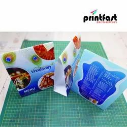 Paper Tent Card Printing Services