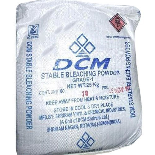 Industrial Grade DCM Stable Bleaching Powder, Packaging Size: 25kg