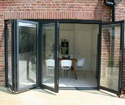 ACE BUILD UPVC Sliding And Folding Door, For Home
