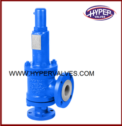 PFA Lined Safety Relief Valve