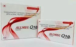 Coenzyme Q10 Omega 3 Fatty Acid Lycopene Vitamins & Minerals