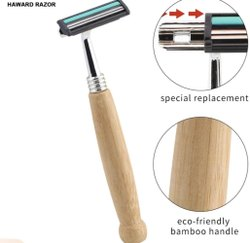 Reusable Wooden Razor For Men