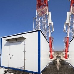 Mild Steel Prefabricated Telecom Shelter
